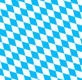 Simbolo bavarese della bandiera di Oktoberfest Fotografia Stock