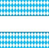 Simbolo bavarese ed insegna della bandiera di Oktoberfest Fotografia Stock Libera da Diritti