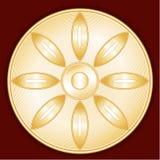 Simbolo buddista (JPG +EPS) illustrazione vettoriale