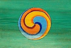 Simbolo buddista tradizionale Fotografie Stock Libere da Diritti
