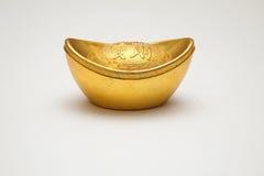 Simbolo cinese dell'oro Fotografia Stock