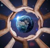 Simbolo concettuale della terra immagini stock libere da diritti