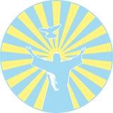 Simbolo cristiano Fotografia Stock Libera da Diritti