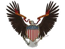 Simbolo degli Stati Uniti Immagini Stock
