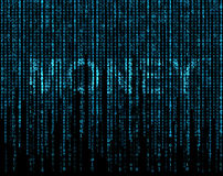 Simbolo dei soldi Immagini Stock