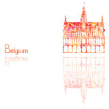 Simbolo del Belgio royalty illustrazione gratis