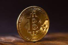 simbolo del bitcoin Immagine Stock Libera da Diritti