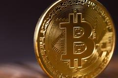 simbolo del bitcoin Fotografia Stock Libera da Diritti