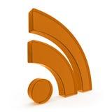 Simbolo del blog Fotografie Stock