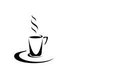 Simbolo del caffè, del cioccolato o del tè Fotografia Stock