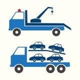 Simbolo del camion Fotografia Stock