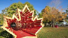 Simbolo del Canada Fotografia Stock
