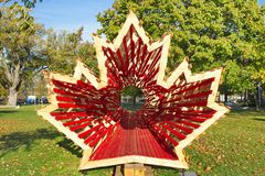 Simbolo del Canada Immagini Stock Libere da Diritti