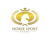 Simbolo del cavallo dell'elite Royalty Illustrazione gratis