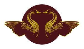 Simbolo del cigno Illustrazione Vettoriale