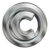 Simbolo del copyright Immagini Stock
