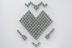 Simbolo del cuore Immagini Stock Libere da Diritti