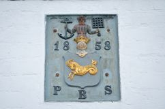 Simbolo del Danese Flintovn in Roedvig Fotografie Stock Libere da Diritti