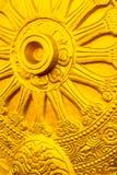 Simbolo del dhamma buddista Fotografia Stock Libera da Diritti