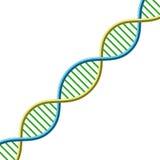 Simbolo del DNA Illustrazione di vettore Illustrazione di Stock