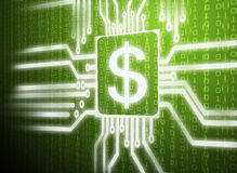 Simbolo del dollaro Immagini Stock Libere da Diritti