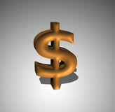simbolo del dollaro americano 3d Immagine Stock