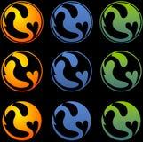 Simbolo del drago Immagini Stock