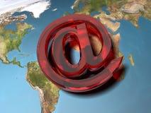 Simbolo del email Fotografie Stock Libere da Diritti