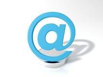 Simbolo del email Fotografia Stock