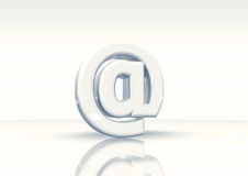 Simbolo del email Immagini Stock Libere da Diritti