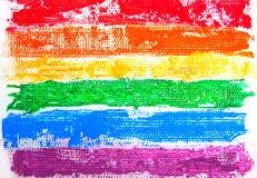 Simbolo del fondo LGBT Fotografia Stock