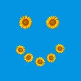 Simbolo del fronte di smiley Fotografie Stock