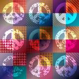Simbolo del hippy di Paicfic Fotografia Stock