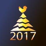 Simbolo del nuovo anno e del Natale Immagine Stock
