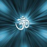 Simbolo del OM - yoga Immagine Stock
