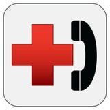 Simbolo del pronto soccorso Fotografia Stock Libera da Diritti