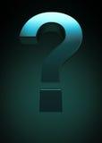Simbolo del punto interrogativo Immagini Stock