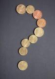 Simbolo del punto interrogativo Fotografia Stock Libera da Diritti