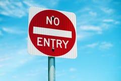 Simbolo del segnale stradale di traffico Fotografia Stock Libera da Diritti