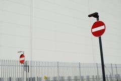 Simbolo del segnale stradale di traffico Immagine Stock