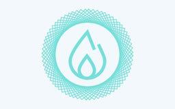 Simbolo del segno dell'icona di vettore del fuoco royalty illustrazione gratis