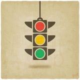 Simbolo del semaforo Immagine Stock Libera da Diritti