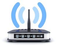 Simbolo del transmiter di Wi-Fi Immagini Stock