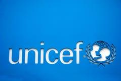 Simbolo del Unicef Fotografia Stock