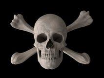 Simbolo del veleno o della sostanza tossica orizzontale Fotografia Stock