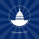 Simbolo del Washington DC di vettore royalty illustrazione gratis
