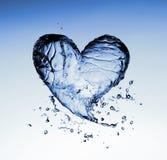Simbolo dell'acqua Fotografia Stock