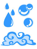 Simbolo dell'acqua Immagine Stock Libera da Diritti