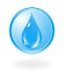 Simbolo dell'acqua Fotografie Stock Libere da Diritti