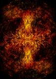 Simbolo dell'albero della vita su fondo strutturato, yggdrasil fotografia stock libera da diritti